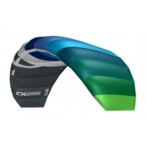 CrossKites Air 2.1 Blue-Green Lenkmatte Allround Lenkdrachen Kite Flugdrachen R2F