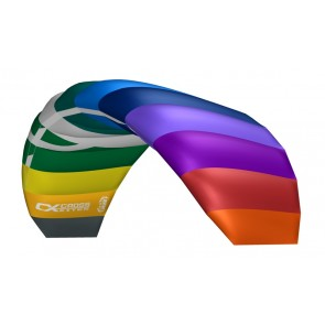 CrossKites Lenkmatte Air 2.5 Rainbow R2F Allround Lenkdrachen Kite