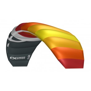 CrossKites Lenkmatte Air 2.5 Red-Yellow R2F Allround Lenkdrachen Kite
