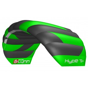 Peter Lynn Lenkmatte Hype Trainer 1.6 complete Lenkdrachen Control Bar Safety Leash 2-Line Powerkite
