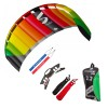 HQ Symphony Pro 2.2 Rainbow Bundle Lenkmatte Allround Lenkdrachen R2F Kite