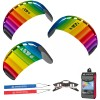 HQ Symphony Beach III Rainbow R2F Lenkmatte Allround Lenkdrachen Kite